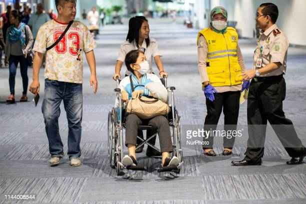 Monkey Pox screening at International Airport Sukarno HattaTangerangBanten As in Singapore identifed a person from africa with Jakarta Indonesia 15...