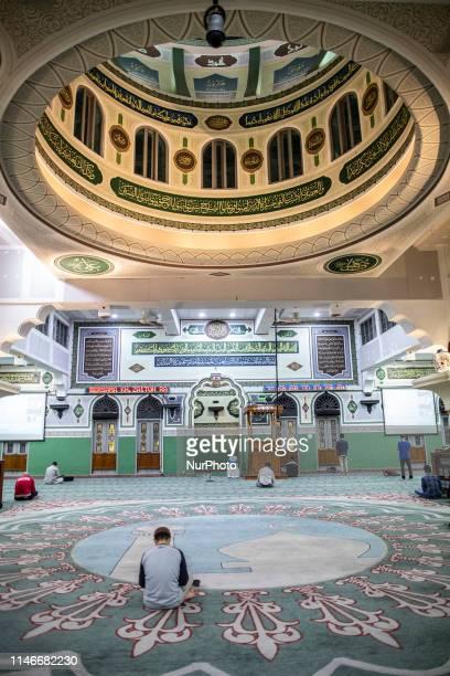 Daily Life Ramadan in Jakarta Muslim in Jakarta held breaking fasting Isya and taraweh pray at Al Azhar MosqueJakarta On 10th day last ramadan people...