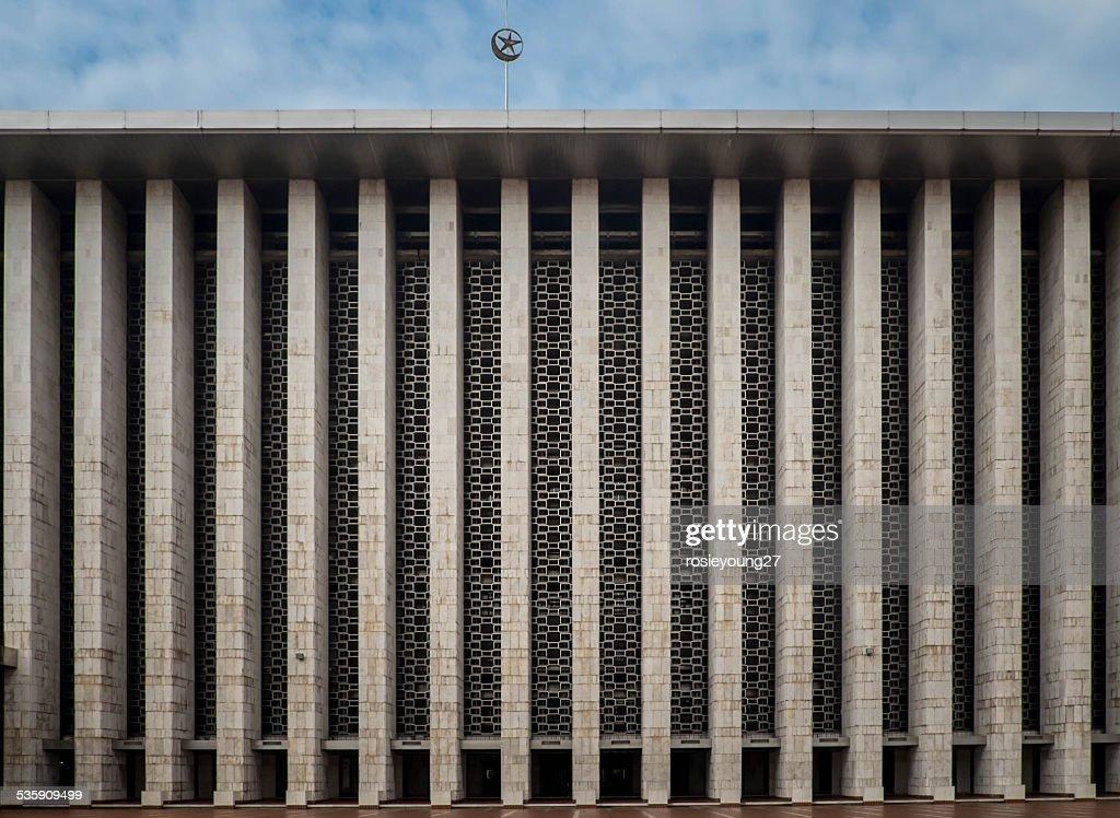 Mezquita de Jakarta : Foto de stock