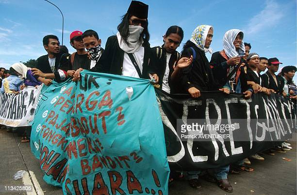 Jakarta Occupation Of Parliament By The Students On May 18th 1998 In JakartaIndonesia