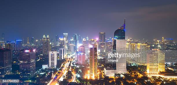Jakarta skyline, Indonesia