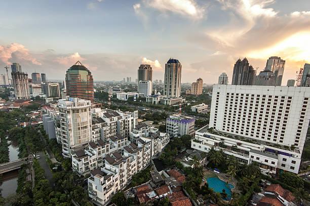 Jakarta Skyline Wall Art