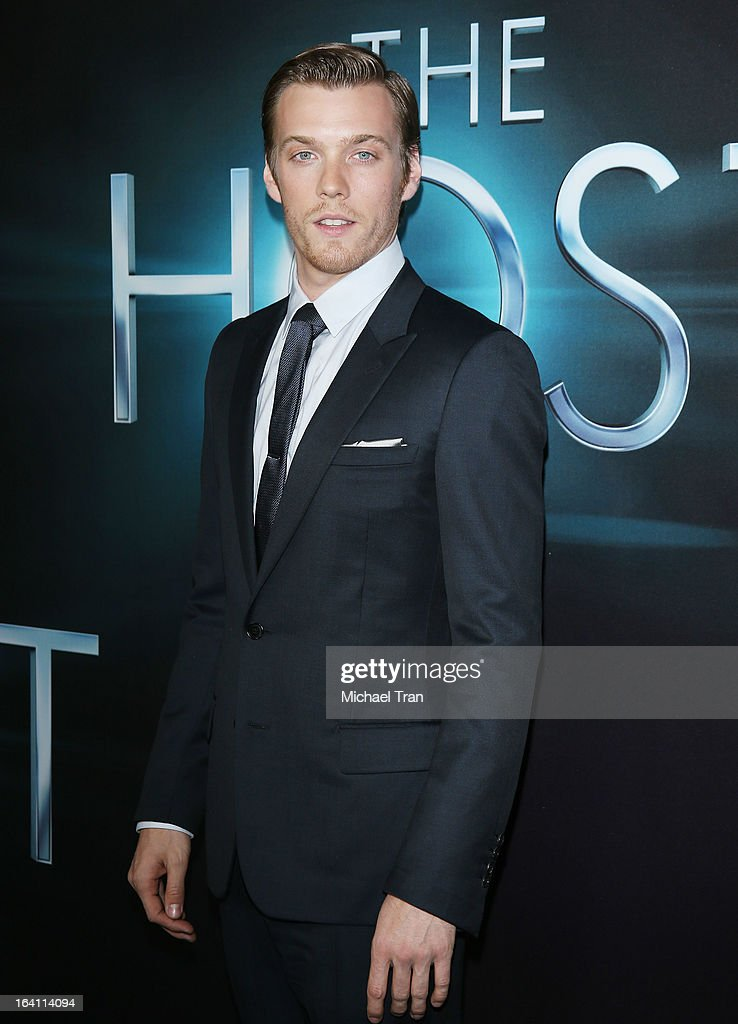 Jake Abel arrives at the Los Angeles premiere of 'The Host' held at ArcLight Cinemas Cinerama Dome on March 19, 2013 in Hollywood, California.