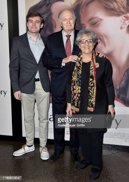 Jake Alda Coffey Alan Alda and Arlene Alda attend the Premiere of Netflix's Marriage Story at DGA Theater on November 05 2019 in Los Angeles...