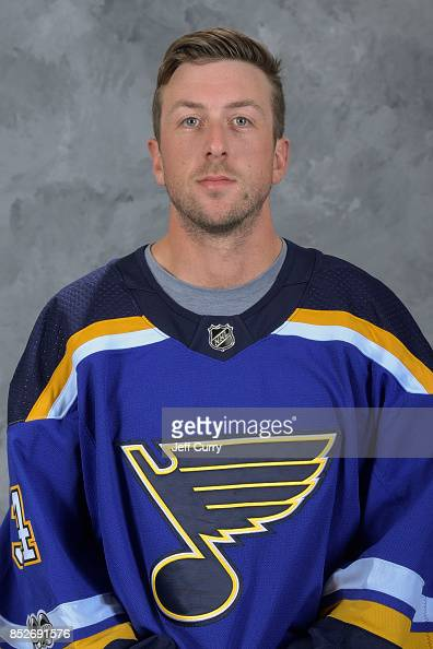 Jake Allen Of The St Louis Blues Poses For His Official Headshot