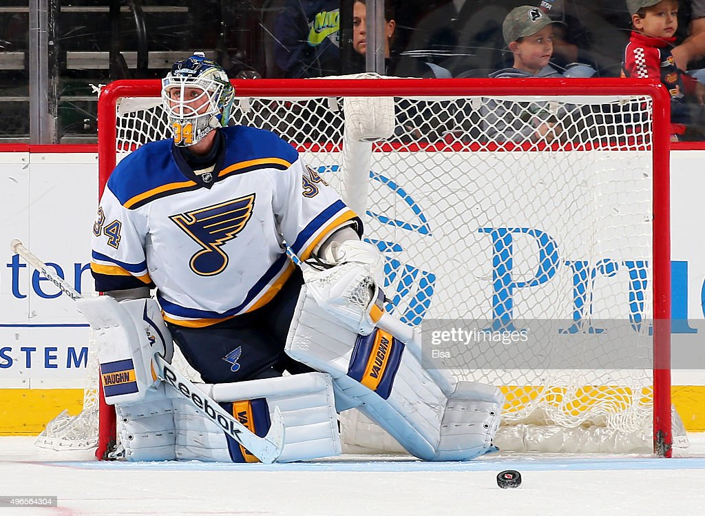 St. Louis Blues v New Jersey Devils : News Photo