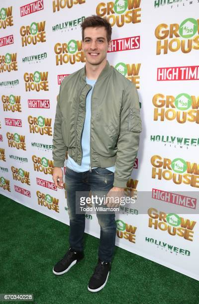 Jake Allyn attends the 'Grow House' World Premiere at W Los Angeles Westwood on April 17 2017 in Los Angeles California