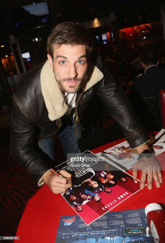 Jake Allyn Visits Planet Hollywood Times Square