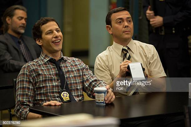 Jake and Charles in the 'The Oolong Slayer' episode of BROOKLYN NINENINE airing Sunday Oct 18 on FOX