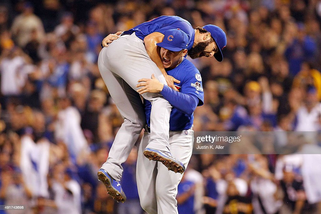 Wild Card Game - Chicago Cubs v Pittsburgh Pirates : Nyhetsfoto