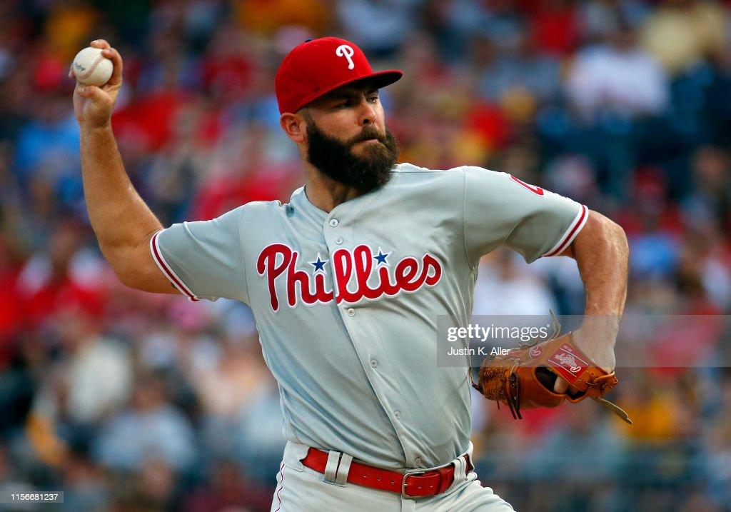 Philadelphia Phillies v Pittsburgh Pirates : News Photo