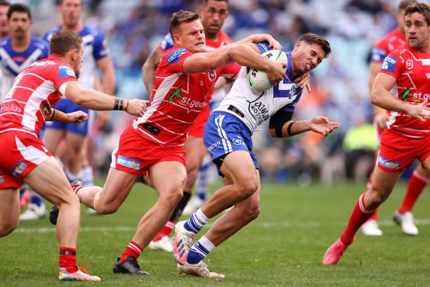 AUS: NRL Rd 14 - Bulldogs v Dragons