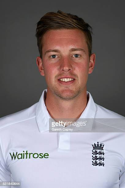 Jake Ball of England poses for a portrait at Headingley on May 17 2016 in Leeds England