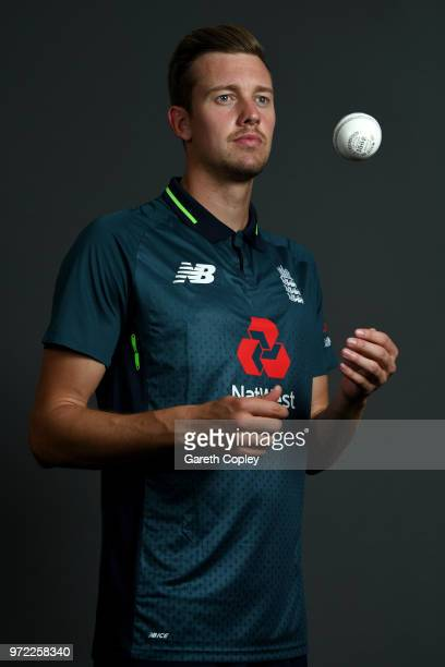 Jake Ball of England poses for a portrait at The Kia Oval on June 12 2018 in London England