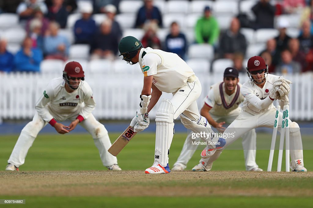 Somerset v Nottinghamshire - Specsavers County Championship: Division One