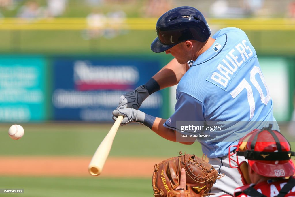 MLB: FEB 27 Spring Training - Rays at Phillies : News Photo