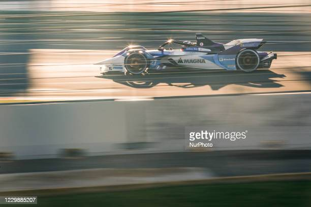 Jake , BMW i Andretti Motorsport, BMW iFE.21, action during the ABB Formula E Championship official pre-season test at Circuit Ricardo Tormo in...