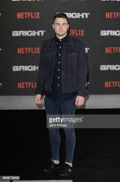 Jake Boys attends the European Premeire of 'Bright' held at BFI Southbank on December 15 2017 in London England