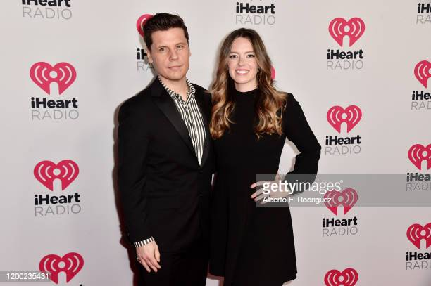 Jake Brennan and Gabrielle Brennan attend the 2020 iHeartRadio Podcast Awards at the iHeartRadio Theater on January 17 2020 in Burbank California