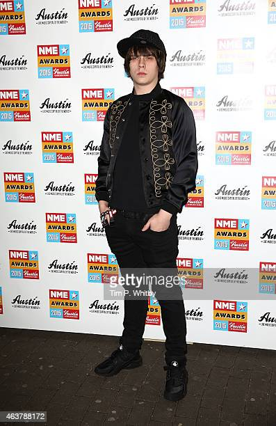 Jake Bugg attends the NME Awards at Brixton Academy on February 18 2015 in London England
