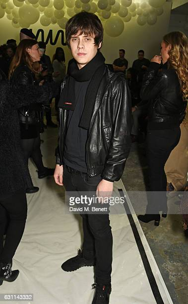 Jake Bugg attends the What We Wear show during London Fashion Week Men's January 2017 collections at the BFC Show Space on January 7 2017 in London...