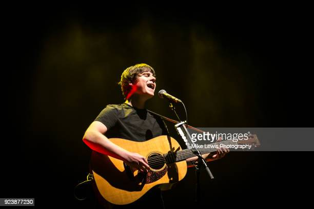 Jake Bugg performs at Colston Hall on February 24 2018 in Bristol England