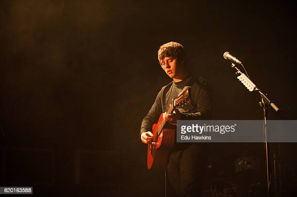 Jake Bugg performs at O2 Academy Brixton on November 1 2016 in London England