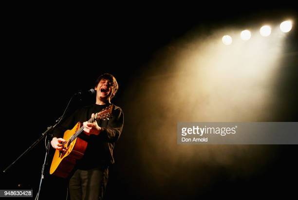 Jake Bugg performs at The Factory on April 19 2018 in Sydney Australia