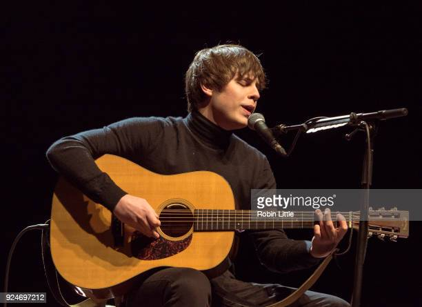Jake Bugg performs at The London Palladium on February 26 2018 in London England