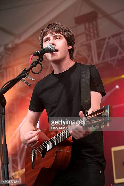 Jake Bugg performs during the 2014 Bonnaroo Music Arts Festival on June 13 2014 in Manchester Tennessee