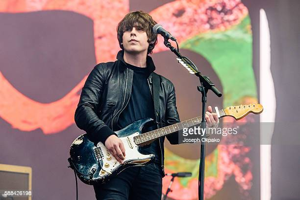 Jake Bugg performs on Day 2 at the Sziget Festival 2016 on August 11 2016 in Budapest Hungary