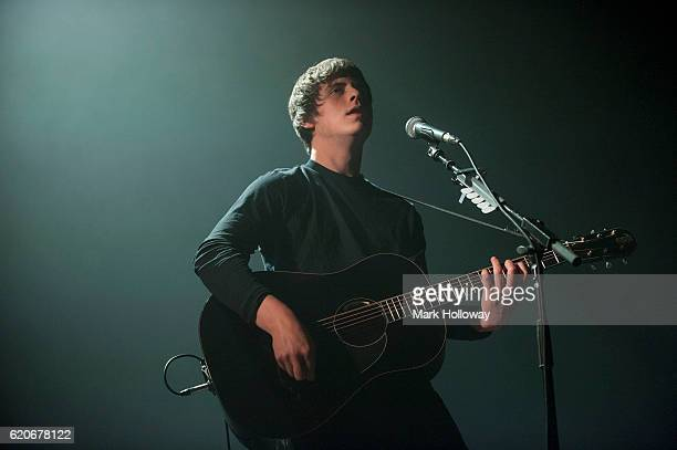 Jake Bugg performs on stage at O2 Academy Bournemouth on November 2 2016 in Bournemouth England