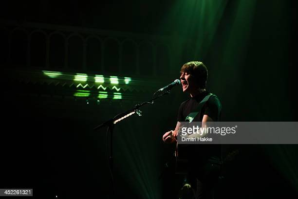 Jake Bugg performs on stage at Paradiso on November 26 2013 in Amsterdam Netherlands