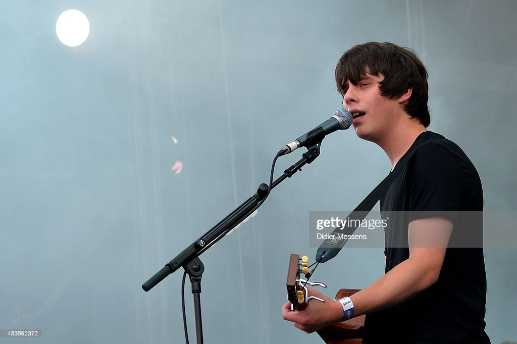 Jake Bugg performs on stage at Sziget Festival on August 13, 2014 in Budapest, Hungary.