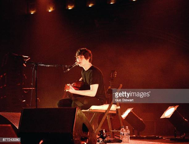 Jake Bugg plays a solo acoustic set at the Union Chapel on November 21 2017 in London England