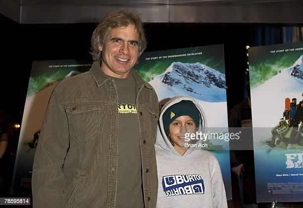 Jake Burton Carpenter and son Timmy