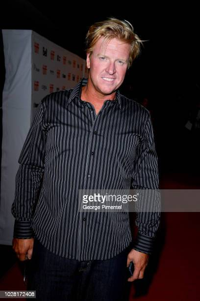 """Jake Busey attends the """"The Predator"""" premiere during the 2018 Toronto International Film Festival at Ryerson Theatre on September 6, 2018 in..."""