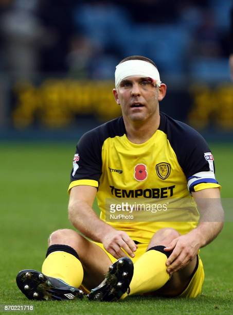 Jake Buxton of Burton Albion FC during Sky Bet Championship match between Millwall against Burton Albion FC at The Den London on 04 Nov 2017