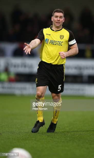 Jake Buxton of Burton Albion in action during the FA Cup Third Round match between Burton Albion and Northampton Town at Pirelli Stadium on January...