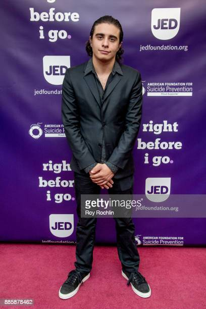Jake Cannavale attends the 'Right Before I Go' Benefit performance at Town Hall on December 4 2017 in New York City