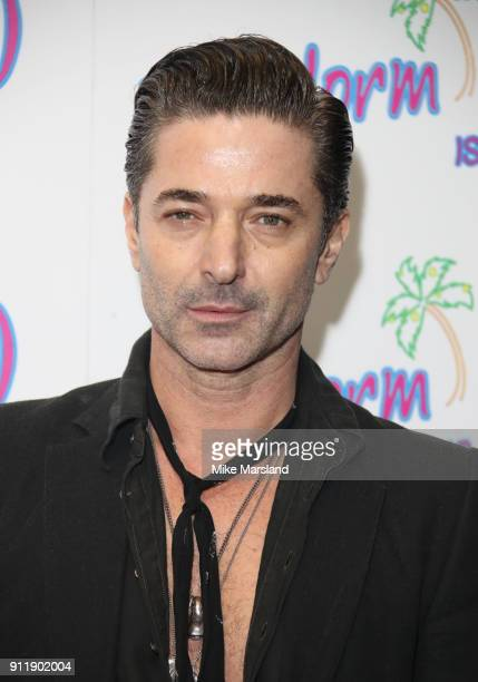 Jake Canuso during a photocall for ITV show 'Benidorm ' which is celebrating it's 10th anniversary at The Curzon Mayfair on January 29 2018 in London...