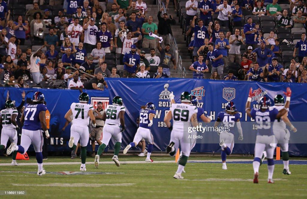 New York Jets v New York Giants : News Photo