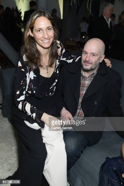 Jake Chapman and Rose Ferguson attend as Another Magazine host special dinner to celebrate the Comme Des Garcons cover of the SS17 at The Store...