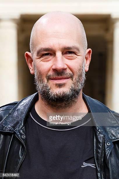 Jake Chapman attends the Louis Vuitton Menswear Spring/Summer 2017 show as part of Paris Fashion Week on June 23 2016 in Paris France