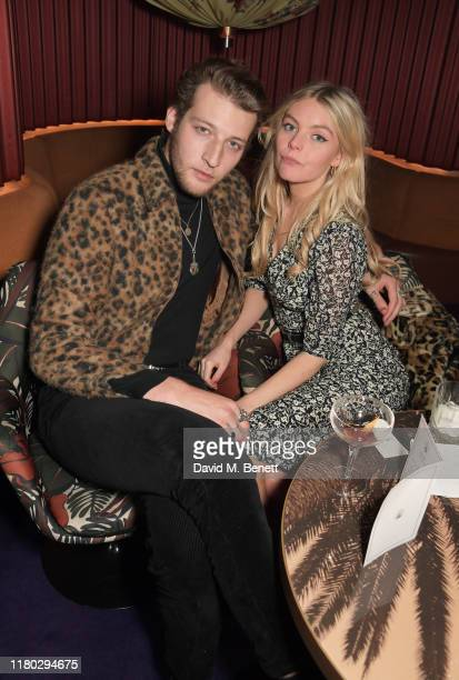 Jake Chatterton and Nell Hudson attend attends an after party for the second worldwide screening of The Broken Butterfly hosted by Louis XIII Cognac...