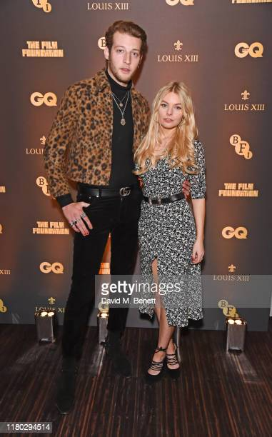 Jake Chatterton and Nell Hudson attend attends the second worldwide screening of The Broken Butterfly hosted by Louis XIII Cognac and The Film...