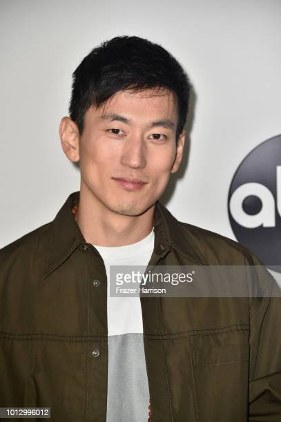 Jake Choi attends the Disney ABC Television TCA Summer Press Tour at The Beverly Hilton Hotel on August 7 2018 in Beverly Hills California