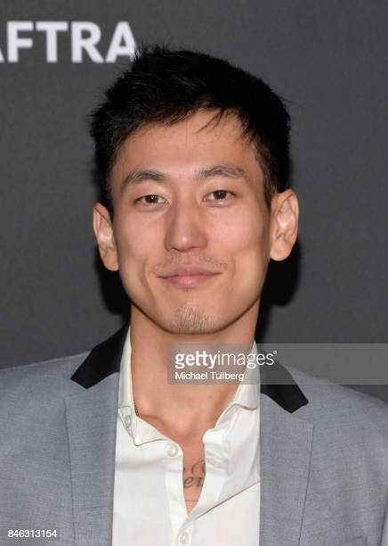 Jake Choi attends the Television Academy and SAGAFTRA's 5th annual Dynamic and Diverse Celebration at Saban Media Center on September 12 2017 in...