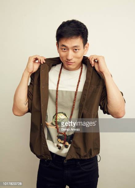Jake Choi of ABC's 'Single Parents' poses for a portrait during the 2018 Summer Television Critics Association Press Tour at The Beverly Hilton Hotel...