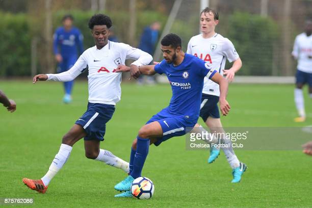 Jake ClarkeSalter of Chelsea during the Premier league 2 match between Tottenham Hotspur and Chelsea on November 18 2017 in Enfield England
